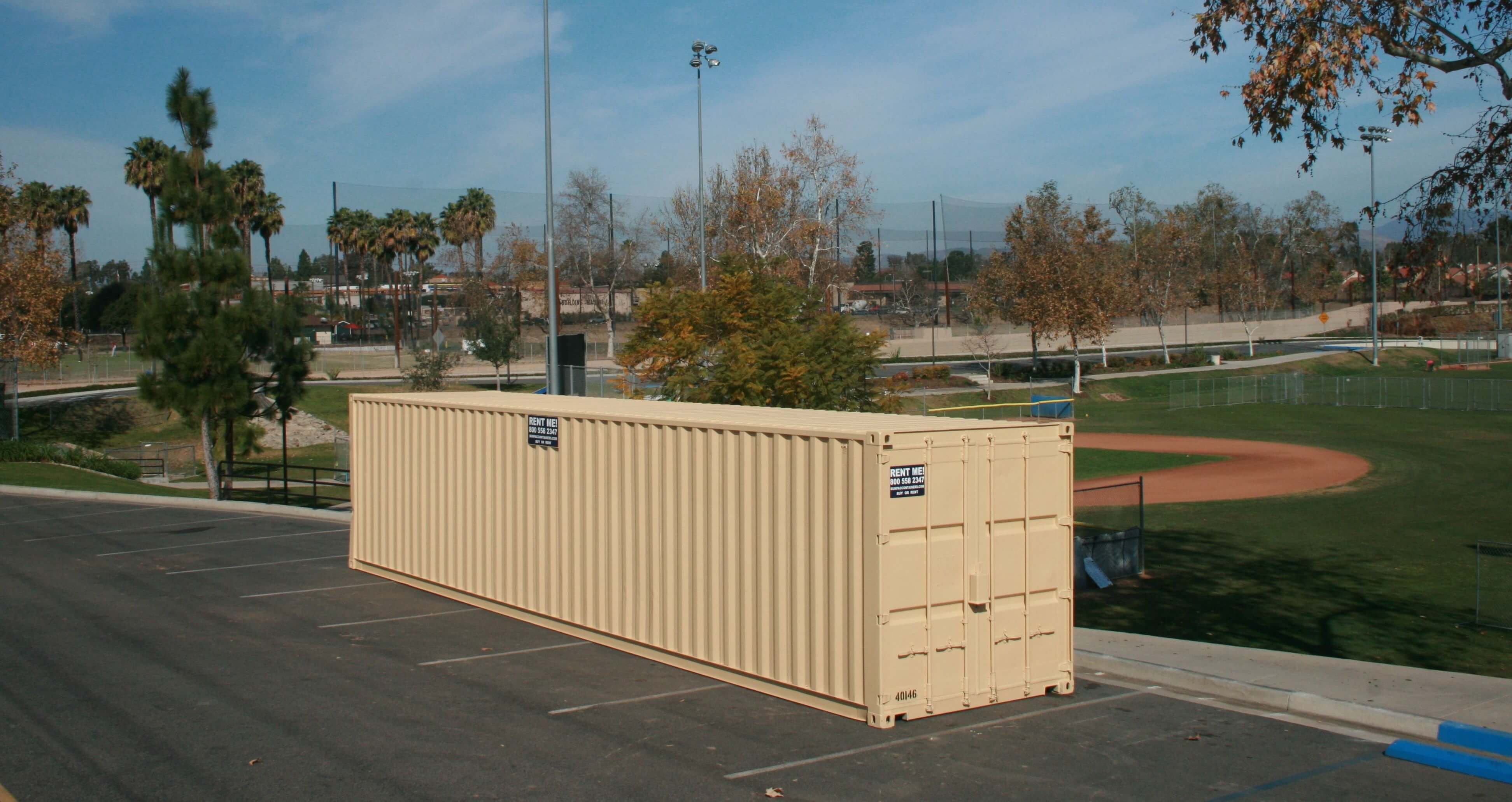 Government, School, Parks & Recreation Storage Containers